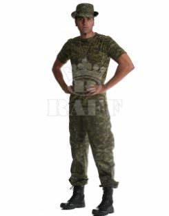 Vêtements de soldat