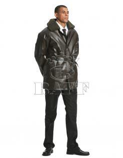 Manteau Militaire En Cuir